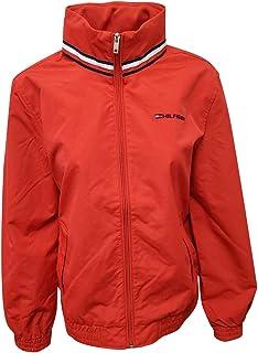 Women's Windbreaker Jacket (Medium, Red)
