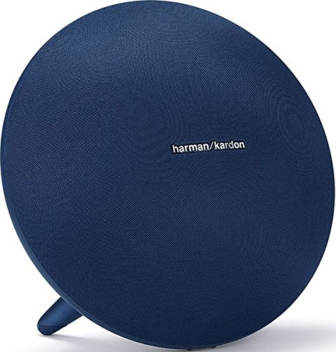 Harman Kardon Onyx Studio 4 - Altavoz portátil (60 W, 50-20000 Hz, Bluetooth 4.2, A2DP, AVRCP, HFP), Color Azul