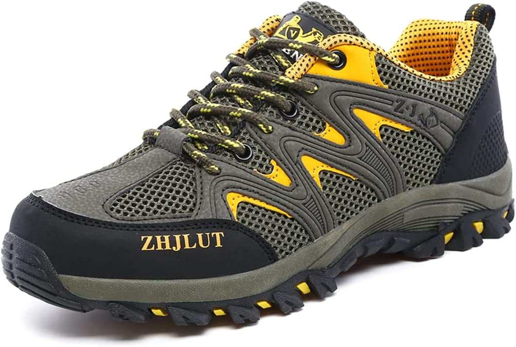 ASONEER Breathable Super popular specialty OFFer store Mesh Hiking Shoes Outdoor Men Trekking Sneak