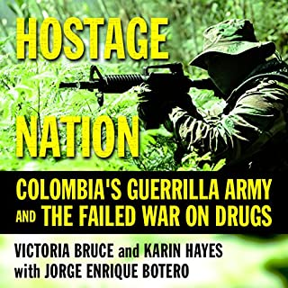 Hostage Nation audiobook cover art