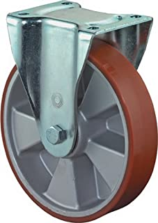BS wielen bokwiel gietijzeren polyurethaan wiel aluminium velg Ø 200 mm