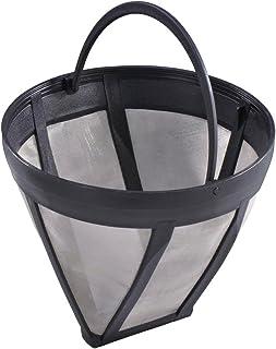Xavax Filtre permanent pour machine à café (filtre pour machines à café et thé, Ø 12 cm, hauteur 10 cm, maillage en acier ...