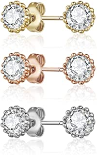 Mestige MSER3209 Women's Crystals Stud Earrings