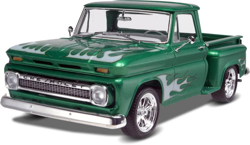 Manufacturer OFFicial shop Revell '65 Chevy Stepside Green 2N1 Pickup Special Campaign