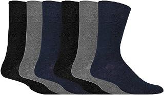 comprar comparacion IOMI - 6 pares hombre sin elasticos diabeticos calcetines para la circulacion