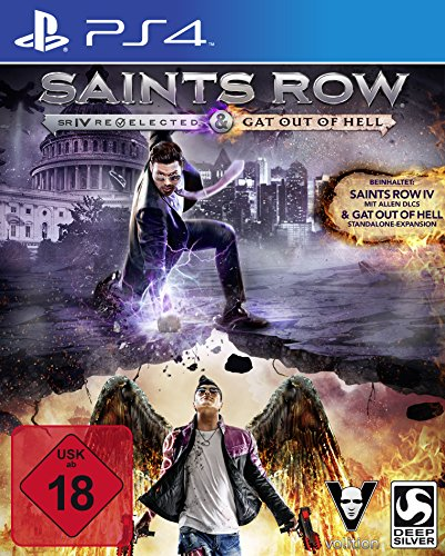 Saints Row IV Re-elected + Gat Out of Hell (PS4) - [Edizione: Germania]