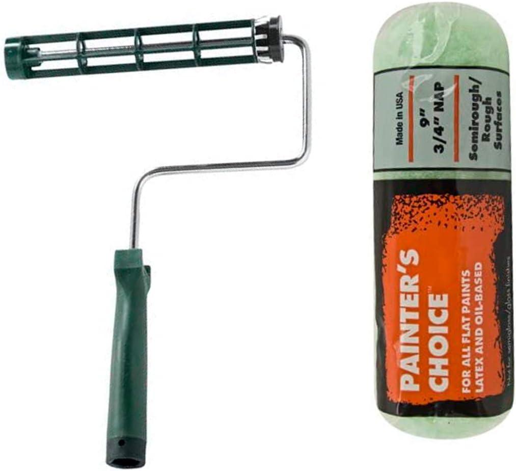 9-Inch Silver Wooster Brush R017-9 Roller Frame 1-Pack