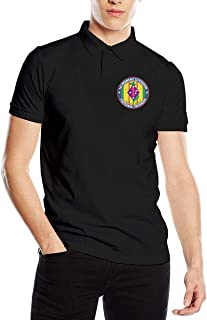 WORTHOY 1st Marine Division Vietnam Veteran Men's Casual Polo Shirt
