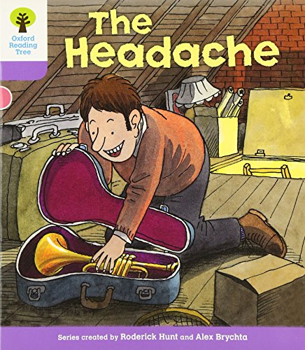 Oxford Reading Tree: Level 1+: Patterned Stories: Headacheの詳細を見る