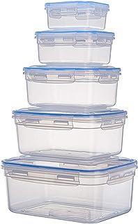 Shunfaji Boîte De Rangement pour Réfrigérateur avec Couvercle, Organisateur De Cuisine,Conteneur De Légumes Surgelés,Boîte...