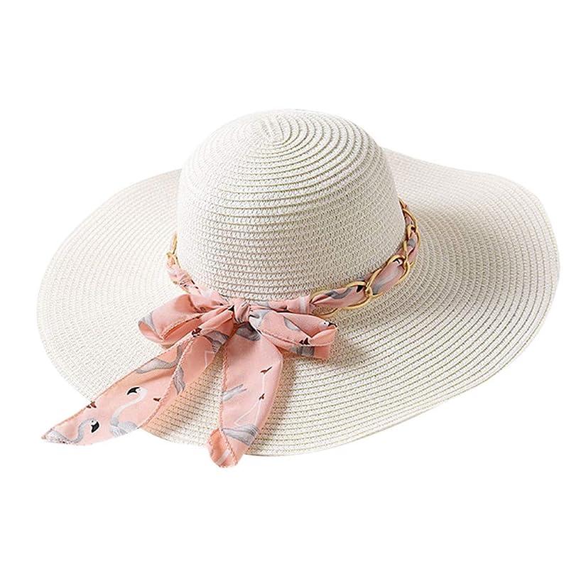 ホイスト崇拝するサイレントファッション小物 夏 帽子 レディース UVカット 帽子 ハット レディース 紫外線対策 日焼け防止 取り外すあご紐 つば広 おしゃれ 可愛い 夏季 折りたたみ サイズ調節可 旅行 女優帽 小顔効果抜群 ROSE ROMAN