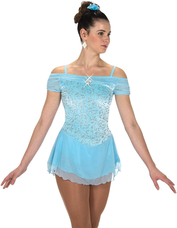 Jerry's Ice Skating Dress  216 Shirred Shoulders Dress