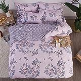 LYJZH Bettbezug Set,Super Weiche Mikrofaser Einfache Bettwäsche Set Gemütlich Bettlaken Bettbezug Kissenbezug Farbe30 2.2m