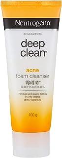 Neutrogena Deep Clean Acne Foam Cleanser, 100g