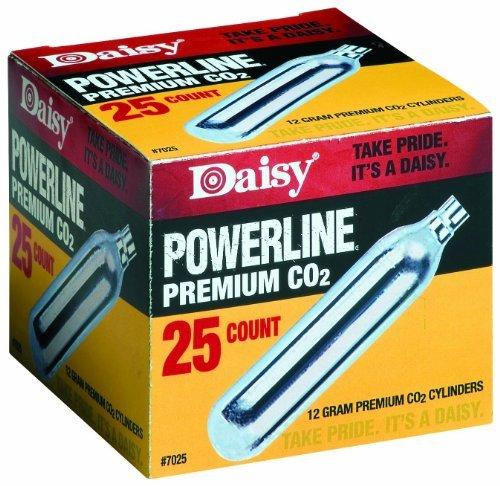 Daisy Powerline Premium CO2 Cylinder 25 count -  997025-611