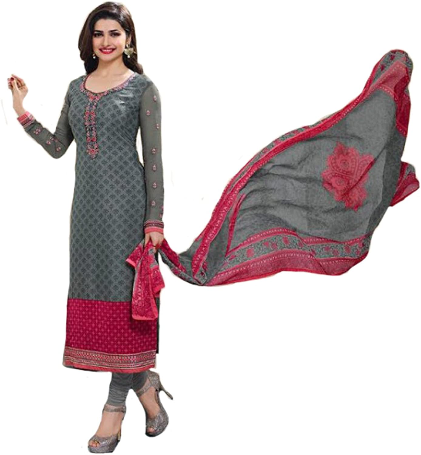 Indian Party wear Straight Salwar Kameez Suit Ceremony Collection
