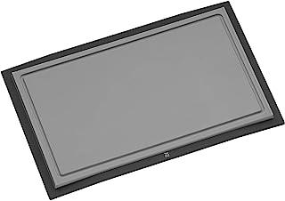 WMF Touch Tabla para Cortar, Acero Inoxidable, Negro