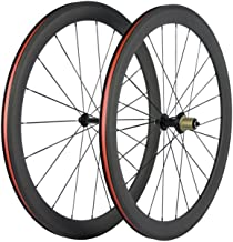 Superteam U Shape Bike Wheel Clincher 700C Carbon Wheelset 38/50/60/88 UD Matte 25 Width