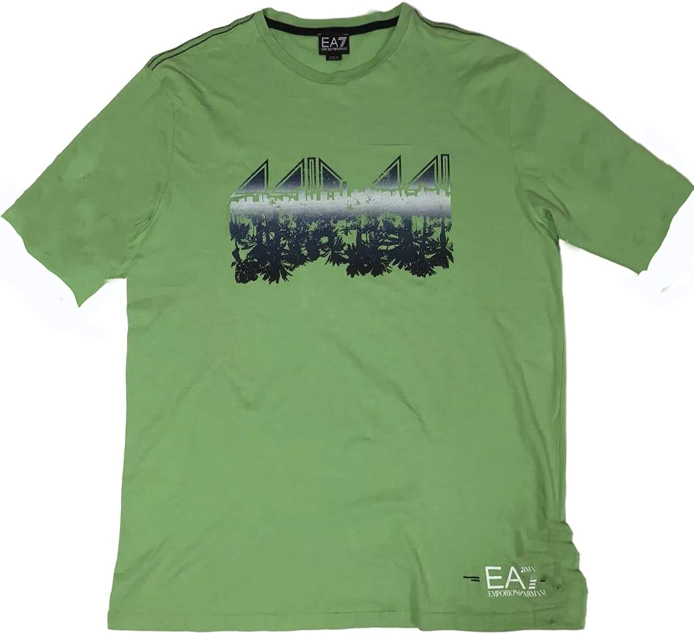 EA7 Men's Avocado Max 48% OFF Green Max 70% OFF SEA World Graphic S T-Shirt XL Frisbee