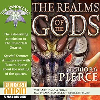 The Realms of the Gods audiobook cover art