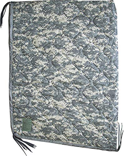USGI Industries Military Camo All Weather Woobie Poncho Liner Blanket (ACU)