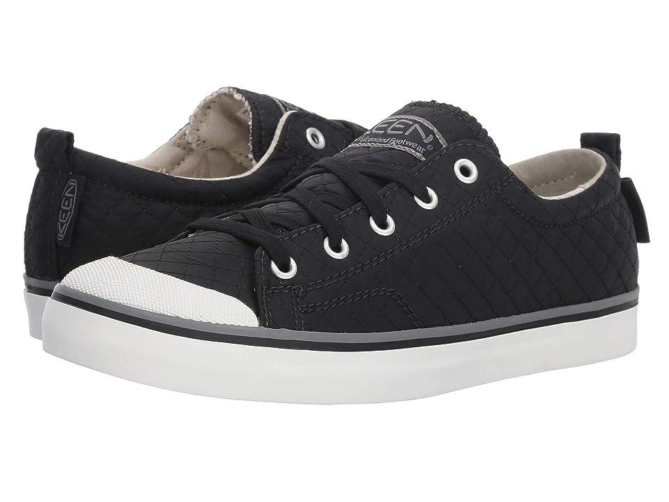 Keen Elsa II Sneaker Quilted (Black/Steel Grey) Women
