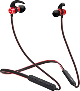 boAt Rockerz 255 Sports in-Ear Bluetooth Neckband Earphone with Mic(Raging Red)