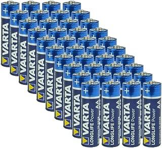 Varta AA Alkaline Batteries - 40 Pack