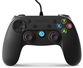 GameSir G3w USB Wired Gaming Controller for PC (Windows 10/8.1/8/7) / Android / PS3 / Steam with Phone Holder