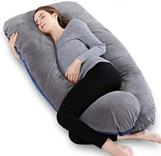 INSEN Pregnancy Pillow, Maternity Body Pillow,Pregnancy Body Pillow for Pregnant Women, Christmas Gift for Anyone