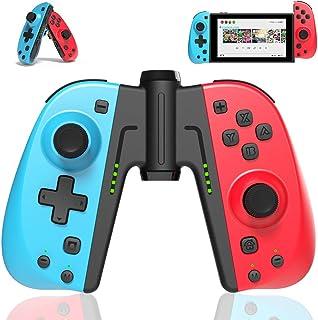 TUTUO Mando Switch para Nintendo Switch, Bluetooth Wireless Controller Gamepad Joystick Controlador De Reemplazo Izquierdo Y Derecho para Joy con