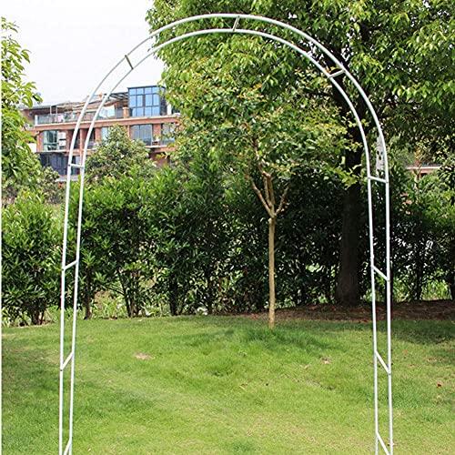 DWXN Frame Arco Flor, Planta Trepadora Arcada El Arco del Jardín, Rose Arcos Metálicos,De Hierro Resistente a La Intemperie Decoración Apoyo a La Boda del Jardín Verde Oscuro