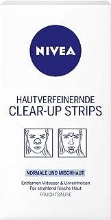 3 x NIVEA Clear-Up Strips Nase Stirn Kinn Normale & Mischhaut je 6 Strips