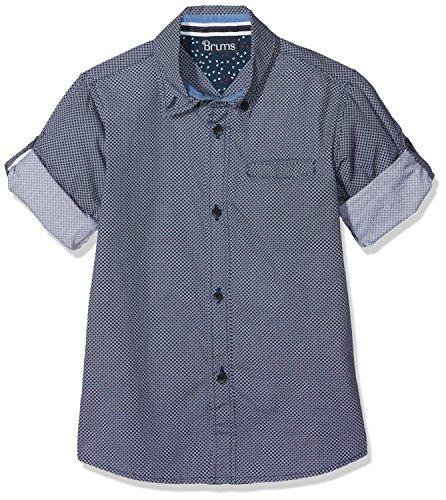 Brums Brums Baby-Jungen 181BFDC005 Hemd, Blau (Blu 09 280), 98 cm
