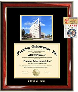 Diploma Frame Big Cal Poly Pomona California State Polytechnic University Pomona Campus Photo Embossed Picture Frames Engraving Bachelor Master MBA PHD Degree