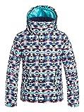 Roxy ERGTJ03011-WBB3_8/S, Chaqueta de nieve Para Niñas, Multicolor (bsq9), 14 años / XL