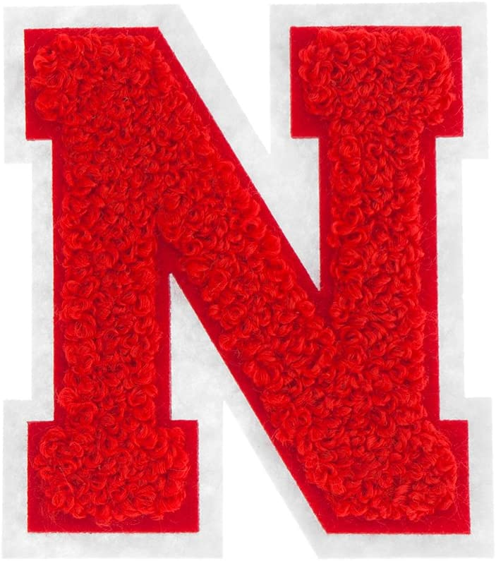 MJ Cheap super special price Trimming Iron On Letters - Patches Ir Varsity A-Z In a popularity Chenille