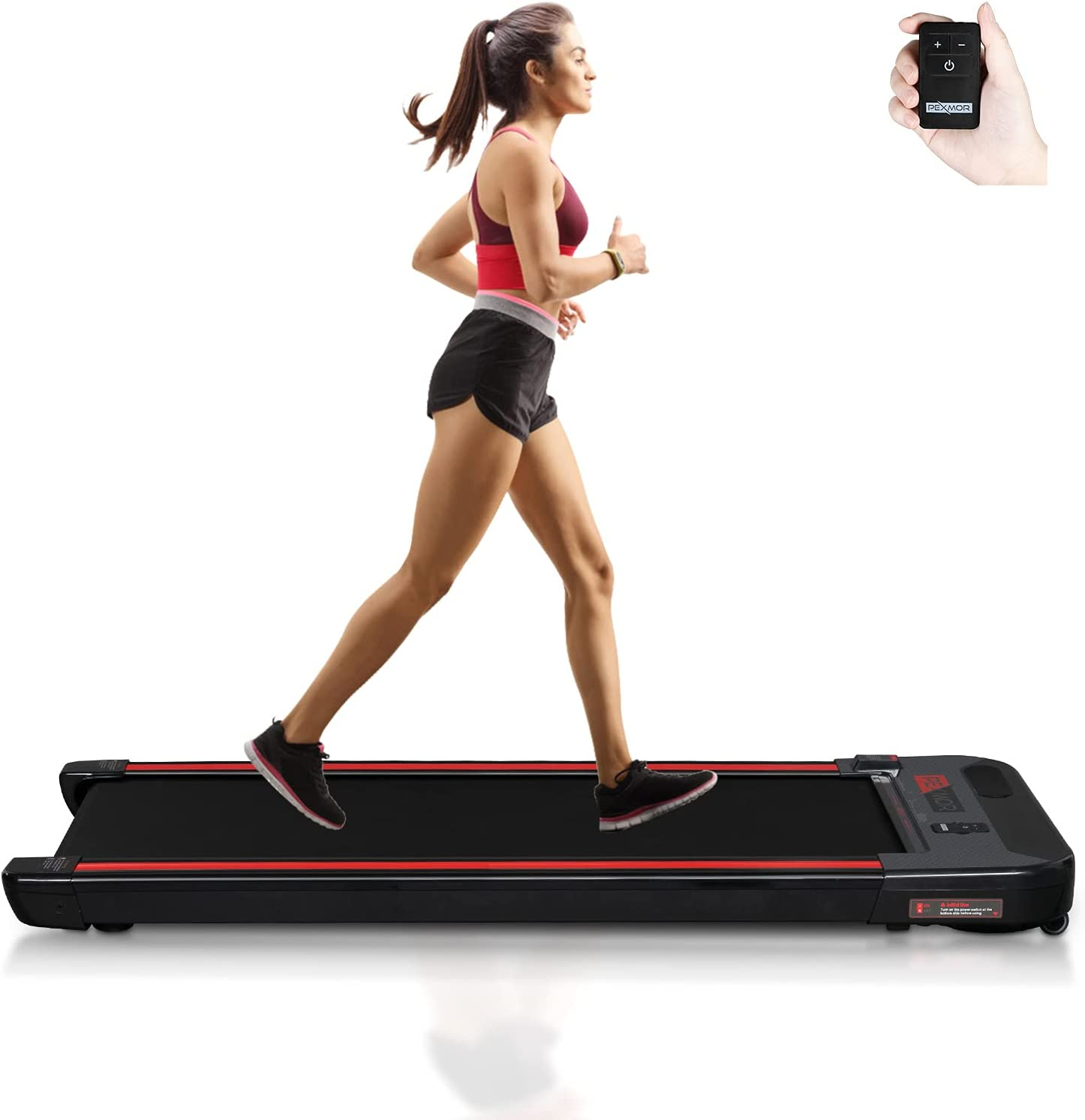 PEXMOR Under-Desk Walking Treadmill Assembly-Free w Portability Max 89% Quality inspection OFF