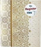 RNK 46703 - Ringbuch'Alhambra' mit Register A-Z, für DIN A5, 4 Ring-Mechanik, 1 Stück