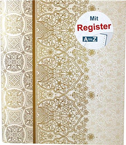 """RNK 46703 - Ringbuch\""""Alhambra\"""" mit Register A-Z, für DIN A5, 4 Ring-Mechanik, 1 Stück"""