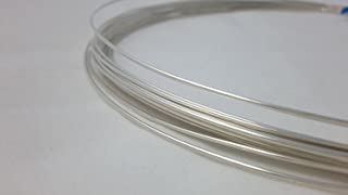 Craft Wire 18 Gauge, 925 Sterling Silver Wire, Round, Half Hard - 5FT from