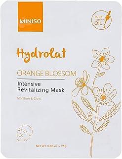 MINISO Orange Blossom Intensive Revitalizing Face Masks, Nature beauty product, Hydrating sheet mask for women (1 Pack)