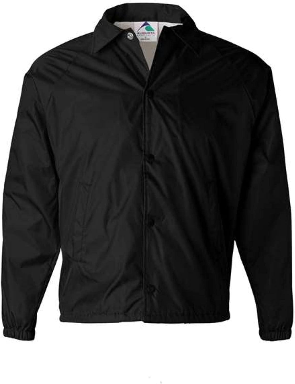 Augusta ! Super beauty product restock quality top! Sportswear Long Beach Mall Nylon Coach's Jacket Lined