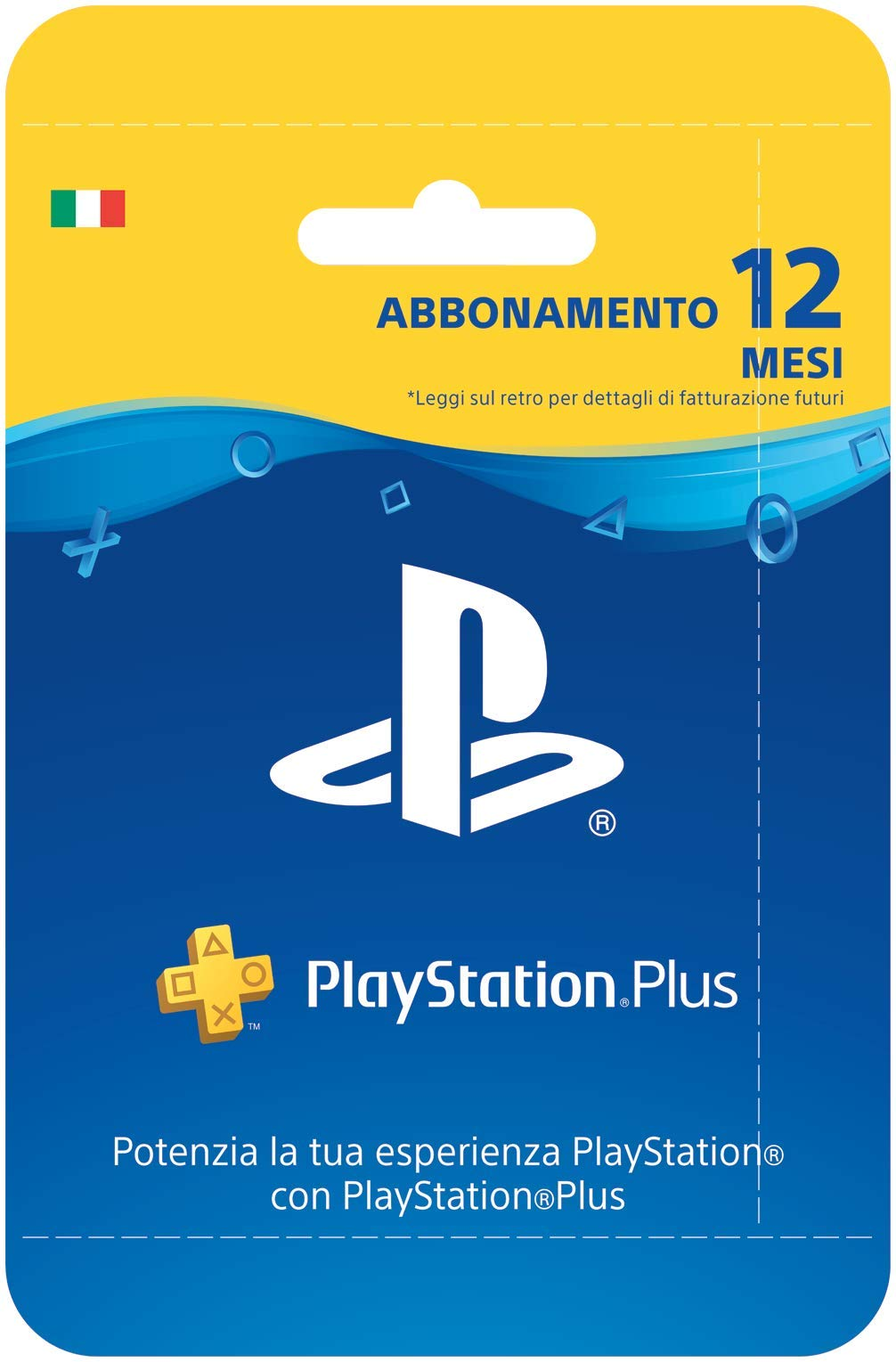 Sony Psn Plus Hanging Card 12 MESI: Amazon.es: Videojuegos