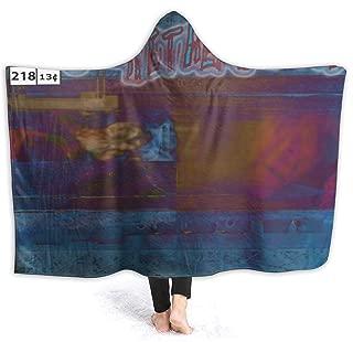 FrankIJohnson Buckethead Old Toys Hooded Blanket,Fashion Design Blanket,Lightweight,Comfortable,All Seasons