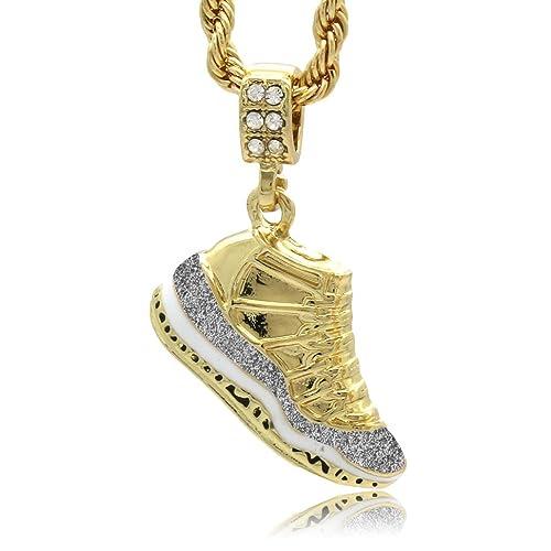 c6548b24270 Mens Gold Plated Hip Hop Retro 11