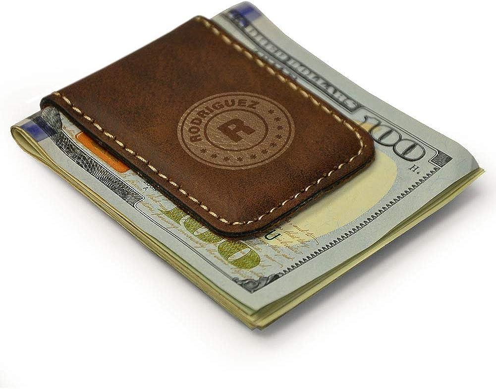 Magnetic Money Clip -Personalized Monogram 1.75