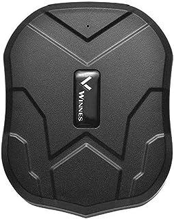 Winnes GPS Tracker, Auto GPS Tracker met sterke magneet, 3 maanden stand-by, Real-time GPS / GPRS / GSM Tracker Antidiefst...