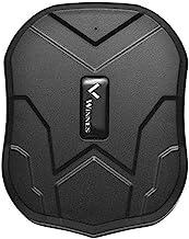 Winnes GPS Tracker Auto GPS Tracker mit Starker Magnet 3 Monate Sleep in Echtzeit..