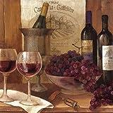Artland Kunstdruck I Poster Albena Hristova Vintage Wein